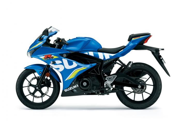 All New Suzuki Gsx R125 Unleashed At Intermot 2016
