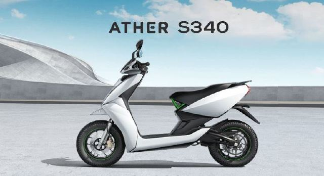 Ather E-Scooter S340 Electric Scooter Specs & Price In