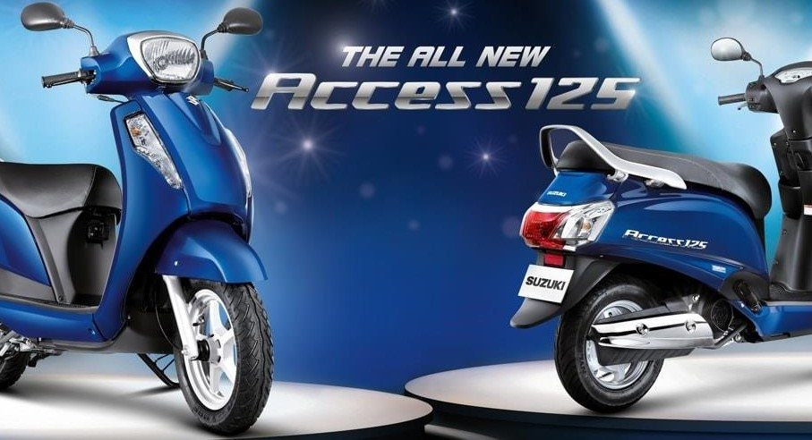 2016 New Suzuki Access 125 Launched @ INR 53,887