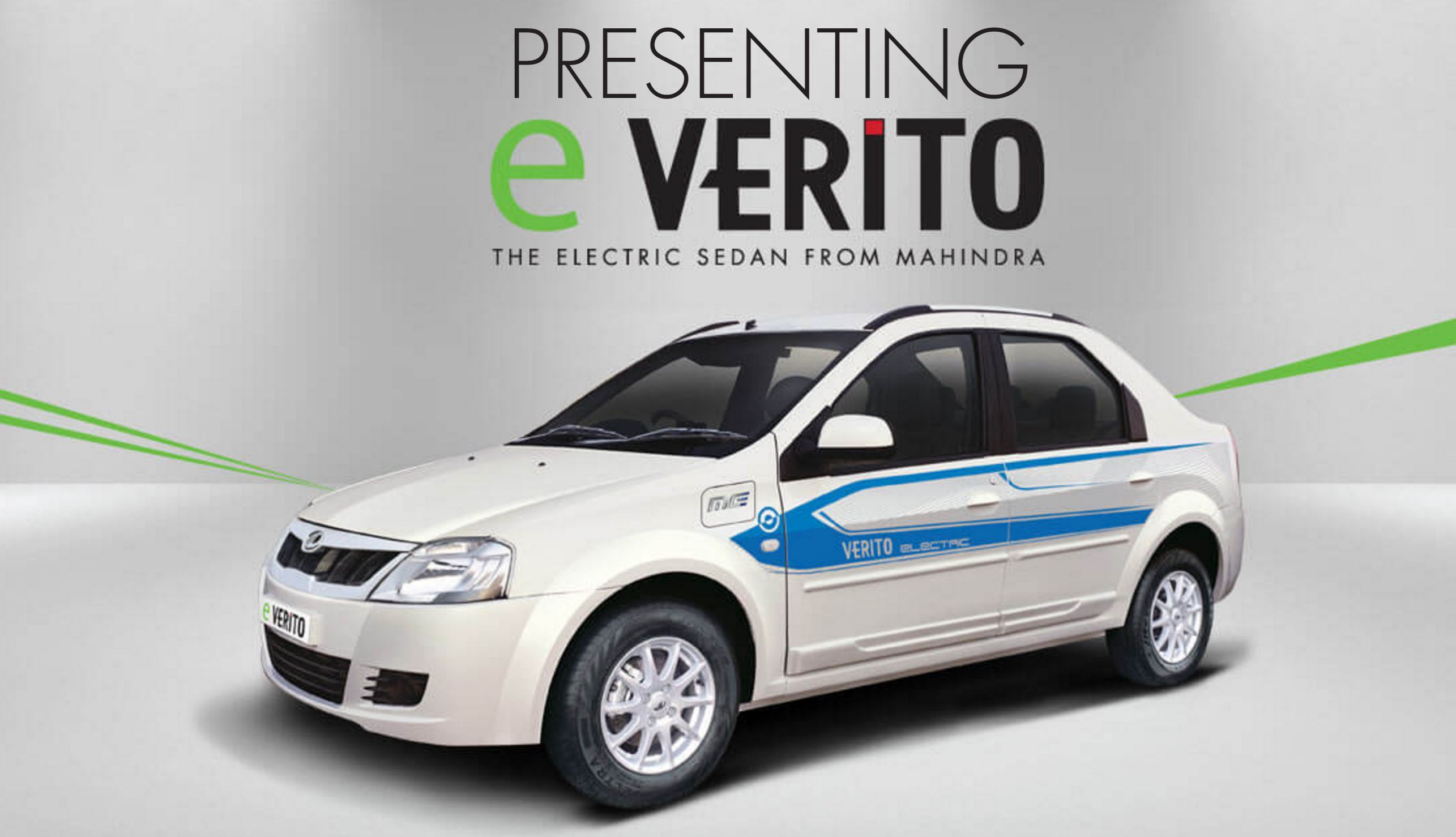 Mahindra e-Verito Launched in India at INR 9.50 lakh