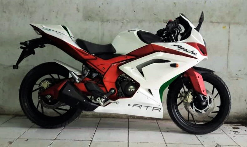 Modified TVS Apache RTR 200: Sports | Tourer | Premium Street (Custom Made)