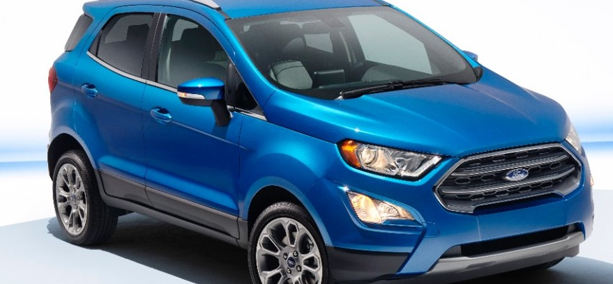 India-Bound 2017 Ford EcoSport Officially Unveiled