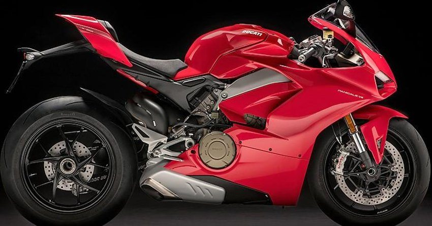 Ducati Panigale V4 Side View