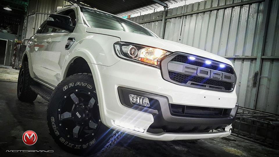 Customized Ford Endeavour By Motormind Automotive Designs