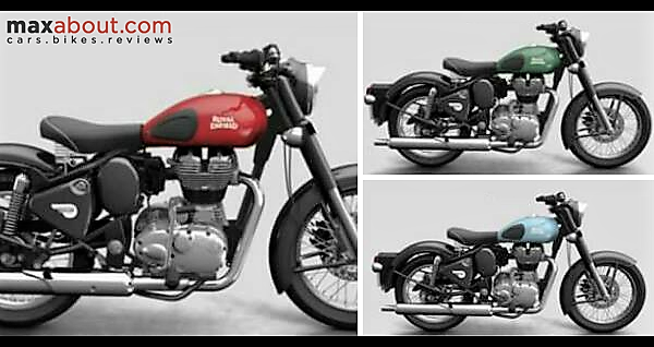 2017 Royal Enfield Classic to get 3 new shades