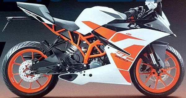 2017 KTM RC 200 Officially Launched in India @ Rs 1.71 lakh