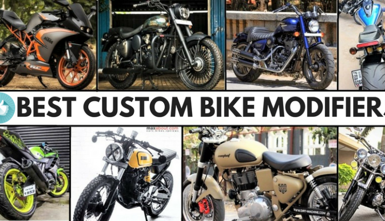 Best Custom Bike Modifiers in India [UPDATED LIST]