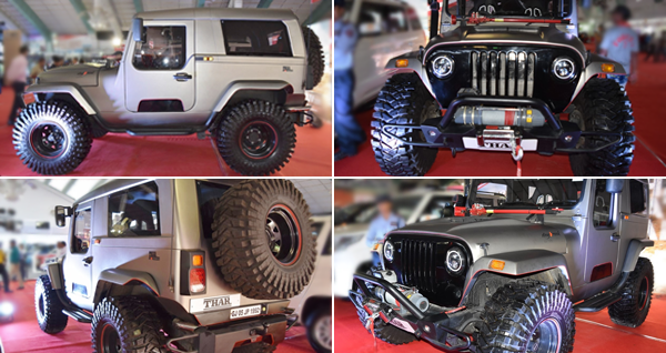 Mahindra Thar Daybreak Edition Hard Top Launched for Rs 20 Lakh