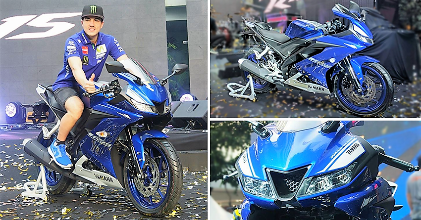 Yamaha Officially Showcases R15 Version 3 in Thailand