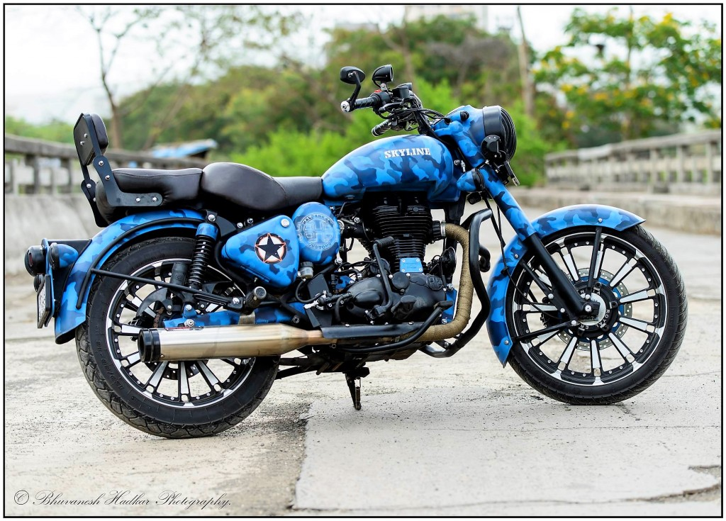 royal enfield classic skyline camouflage edition by. Black Bedroom Furniture Sets. Home Design Ideas