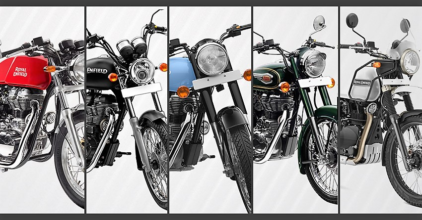 2017 Royal Enfield Motorcycles with BS4 & AHO Launched [Complete Price List Inside]