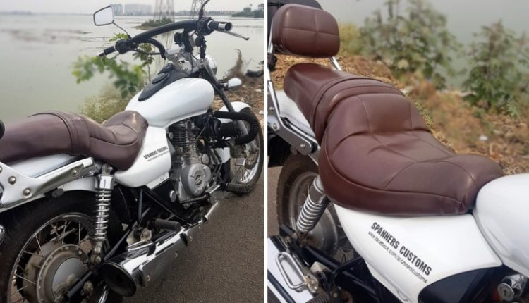 Comfortable Touring Seat for Bajaj Avenger Series by Spanners Customs