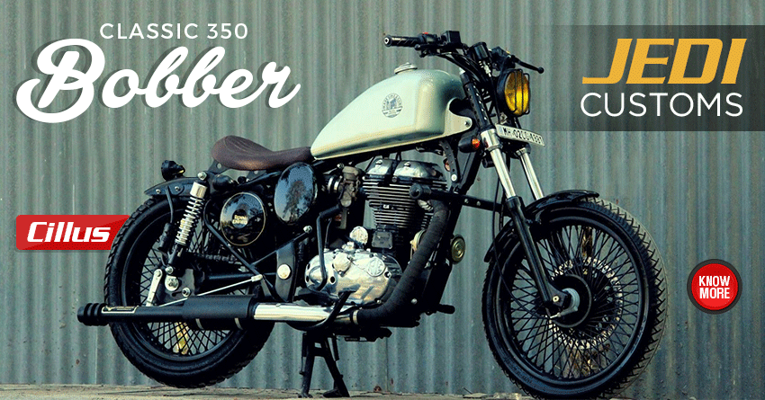 Custom-Made Royal Enfield Classic 350 Bobber by JEDI Customs