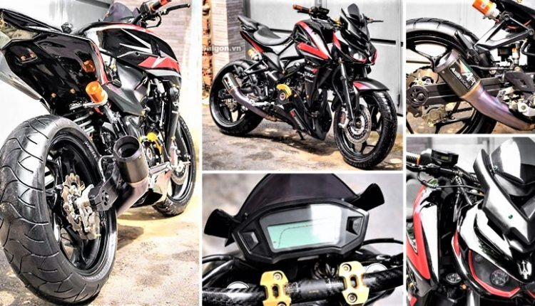 Meet Bajaj Pulsar NS350: A Heavily Modified NS200 with a 350cc Engine