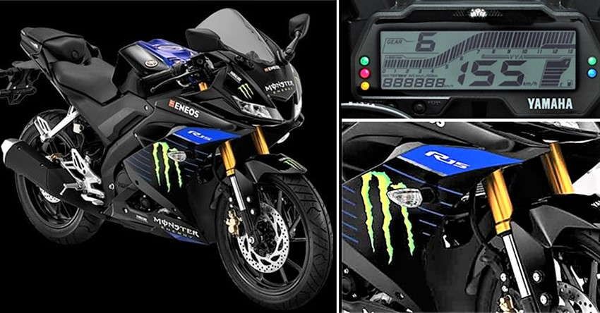 Yamaha R15 V3 Monster Energy Edition India Launch By Diwali 2019