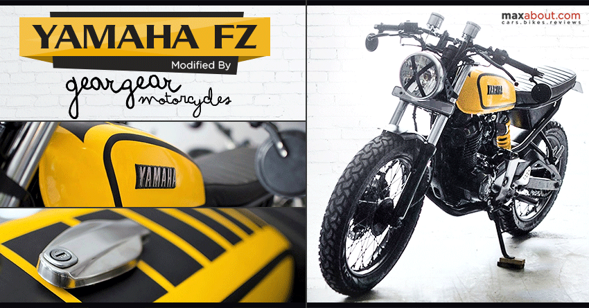 Heavily Modified Yamaha Fz By Gear Gear Motorcycles