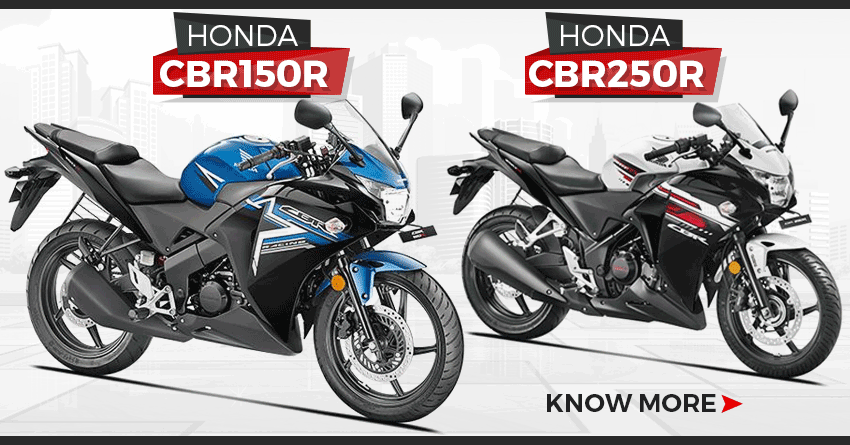 Honda CBR150R & CBR250R Removed from the Official Website