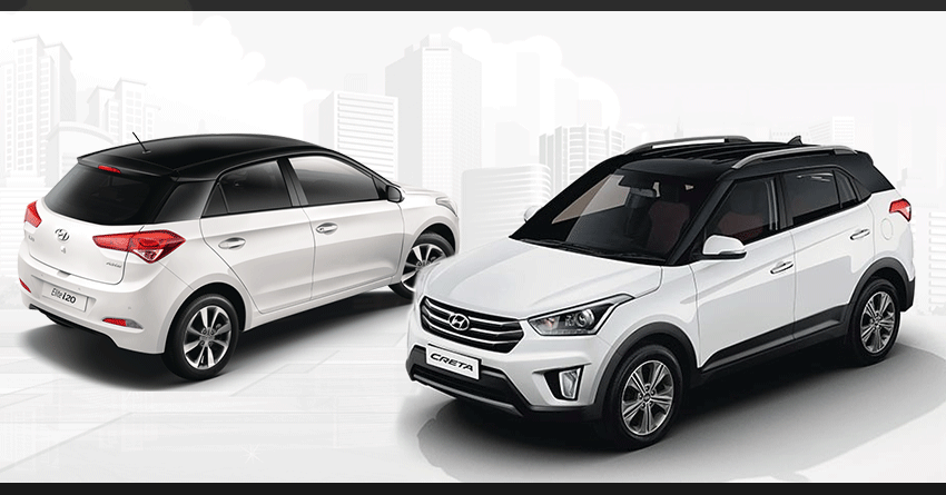 Updated Hyundai Creta Elite I20