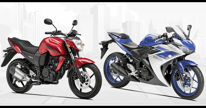 Yamaha R3 & FZ16 Removed from the Official Website in India