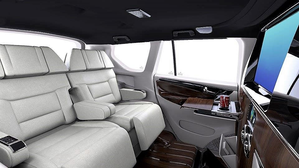 Toyota Innova Crysta 'Lounge Ultimate' Edition