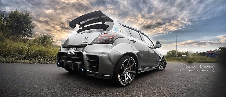 Impressively Modified Maruti Swift
