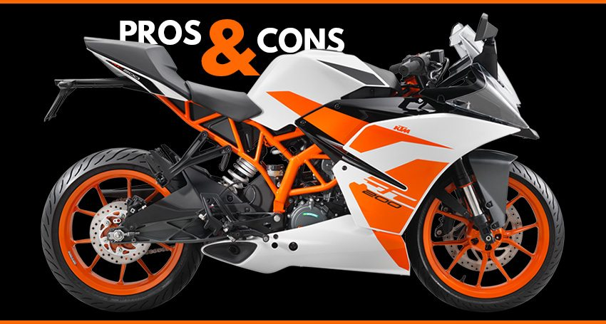 Ktm Rc 200 List Of Pros Amp Cons