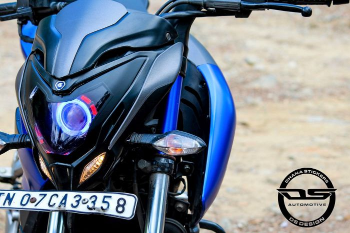Bajaj Pulsar NS200 Grey Edition