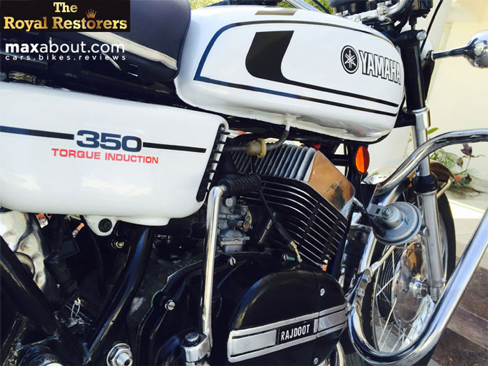 Perfectly Restored Yamaha RD350