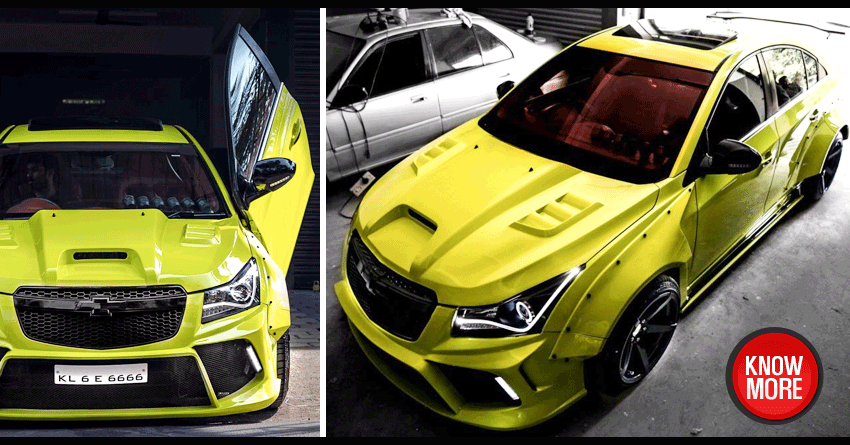 Chevrolet Cruze 'Hyperwide' by 360 Motoring