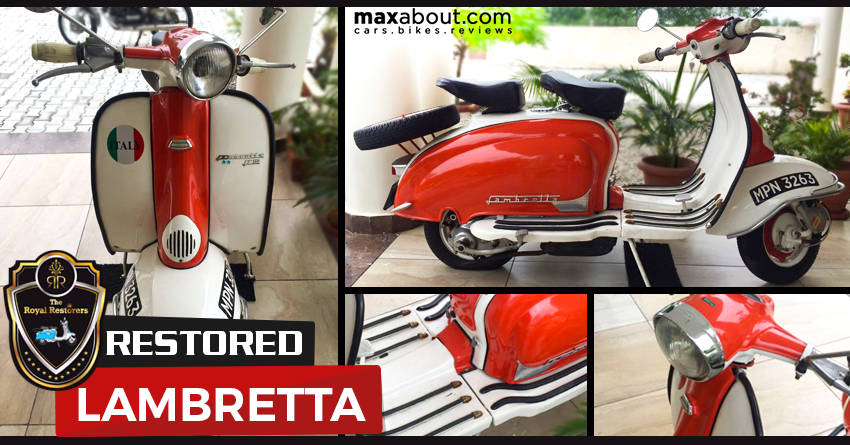 Restored Lambretta Scooter