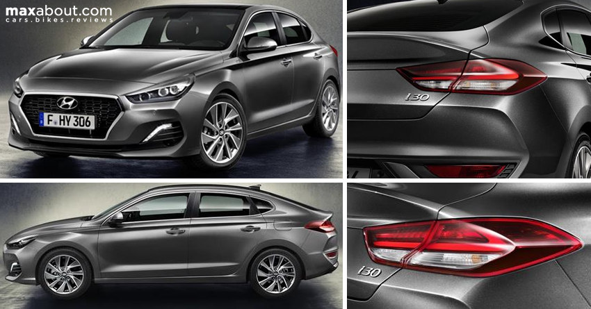 new hyundai i30 fastback unveiled maxabout news. Black Bedroom Furniture Sets. Home Design Ideas