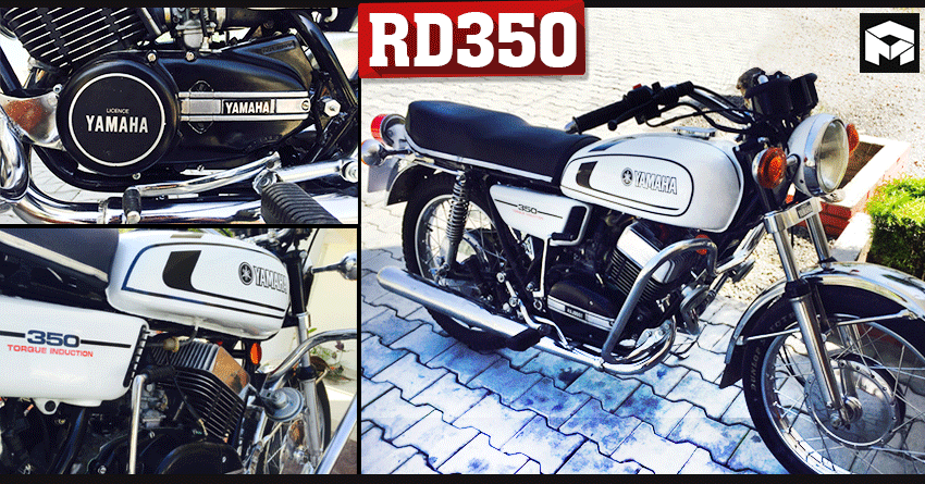 Meet Perfectly Restored Yamaha RD350 by 'The Royal Restorers'