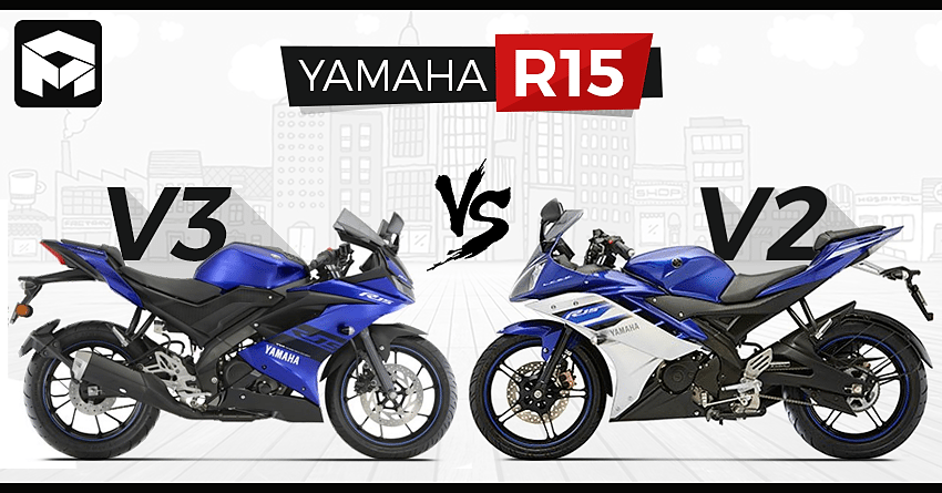 Yamaha R15 V3 Vs R15 V2 Detailed Comparison
