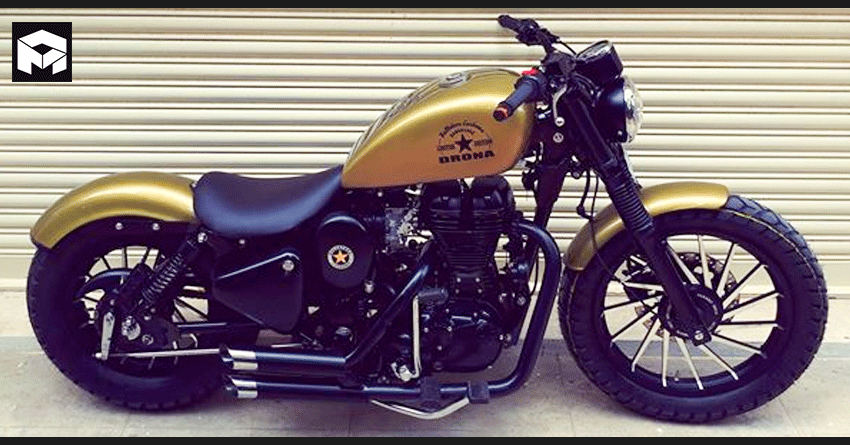 Meet Royal Enfield Drona Limited Edition by Bulleteer Customs