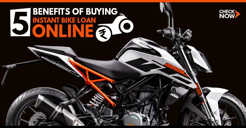 5 Benefits of Buying Instant Bike Loan Online