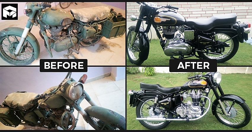 Rebirth of an Iconic Indian Army Bullet: Meet the Legend!