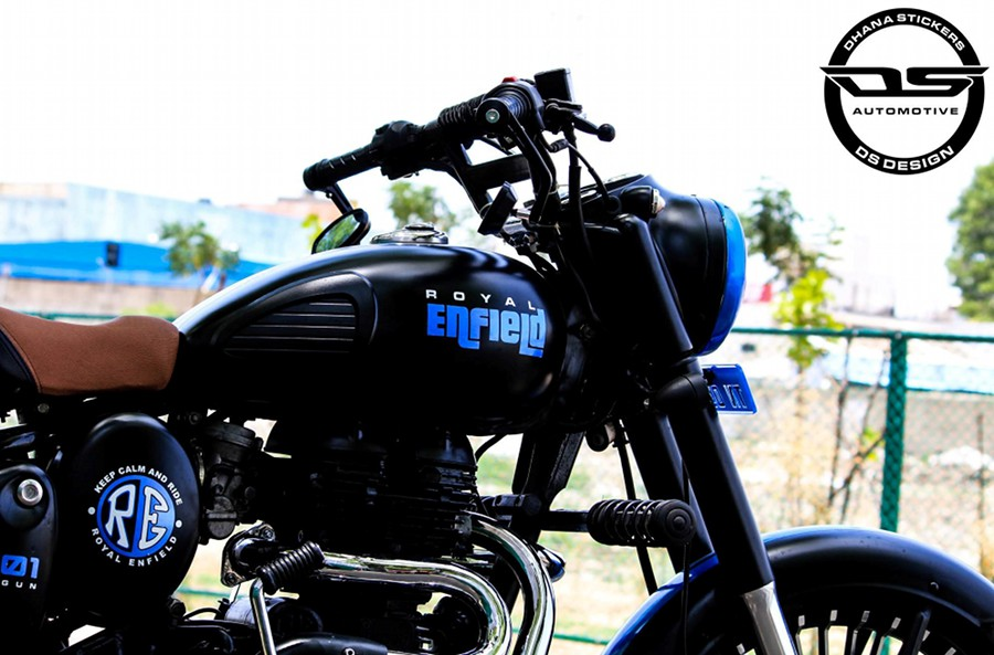 Perfectly Modified Royal Enfield Classic 350