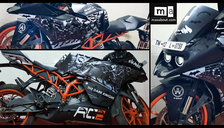 KTM RC 200 Batman Edition by A-Wraps