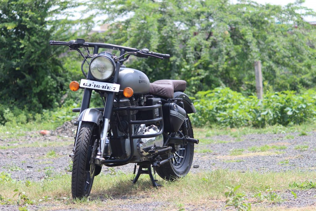 Royal Enfield Classic 350 Gunmetal Grey By Parpin S Garage Maxabout News
