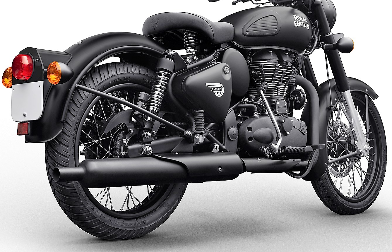2019 Royal Enfield Classic Stealth Black