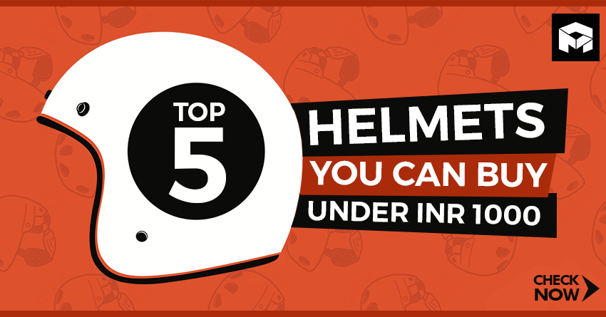 Top 5 Best Helmets You Can Buy Under INR 1000