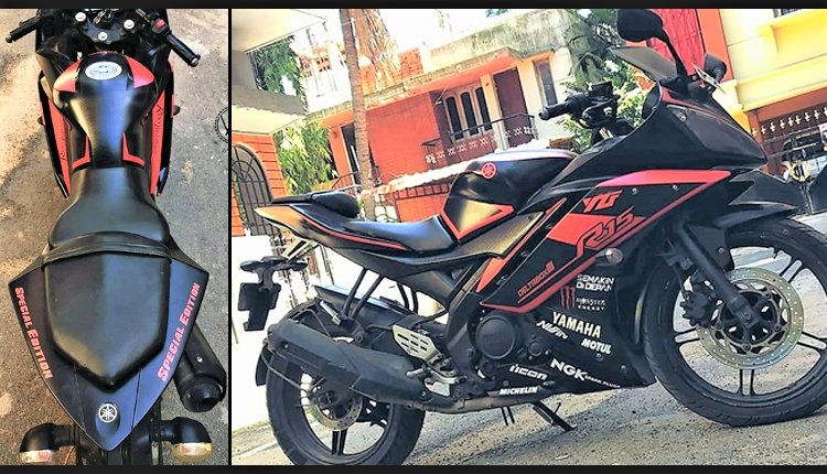 Yamaha R15 V2 Special Edition by A-Wraps