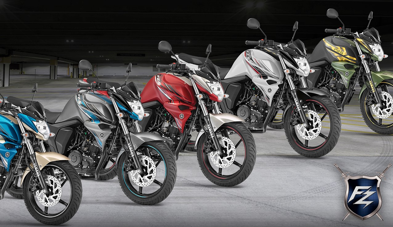 Yamaha FZS V2 Fi Colors Available in India - Maxabout News