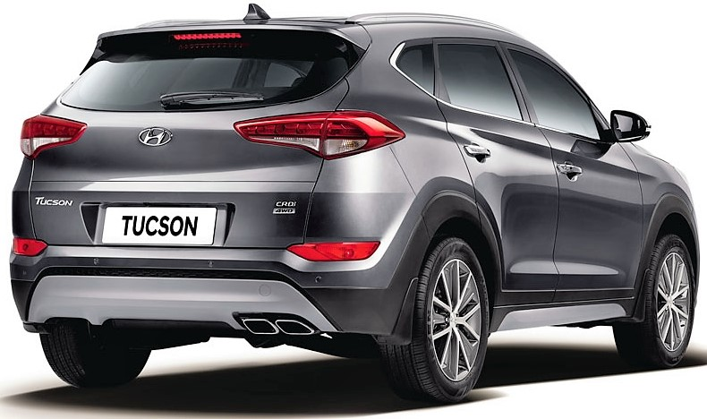 hyundai tucson 4x4 launched in india inr lakh. Black Bedroom Furniture Sets. Home Design Ideas