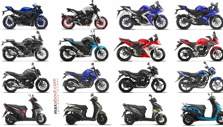 Full List of Yamaha Bikes & Scooters You Can Buy in India
