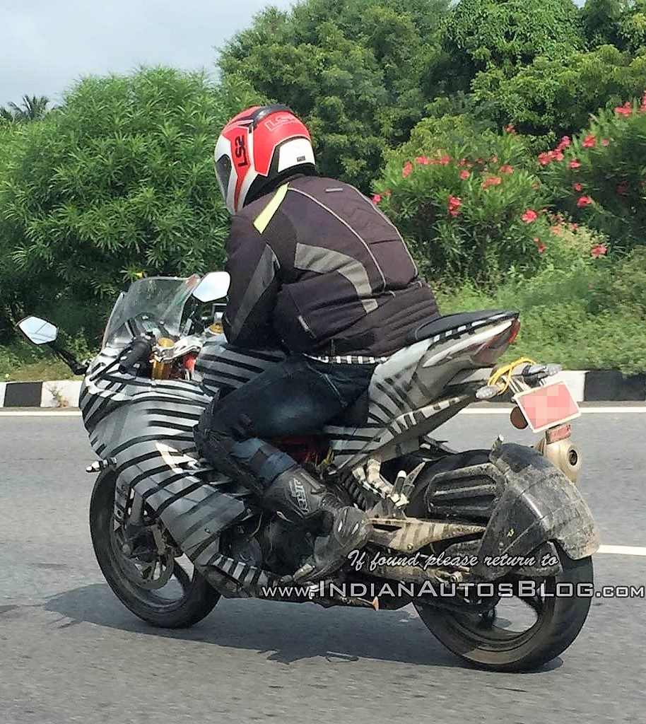 TVS Apache RR310S Brochure Scan | Spotted Testing