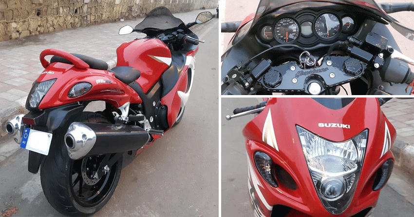 Unbelievable Modification: Hero Xtreme Modified into Suzuki Hayabusa