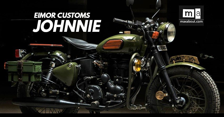 Meet Royal Enfield Electra Johnnie by EIMOR Customs