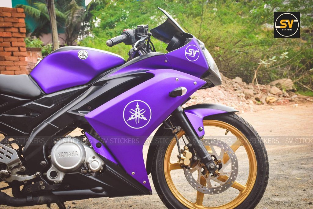 Purple Yamaha R15