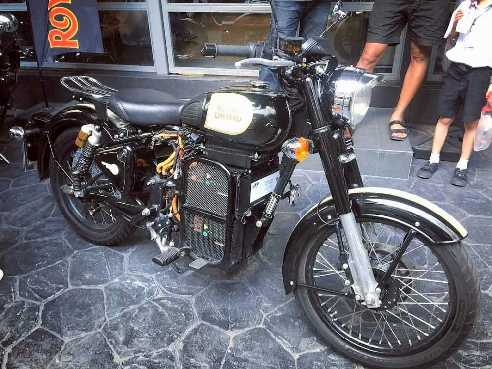 Royal Enfield Working on Electric Motorcycles